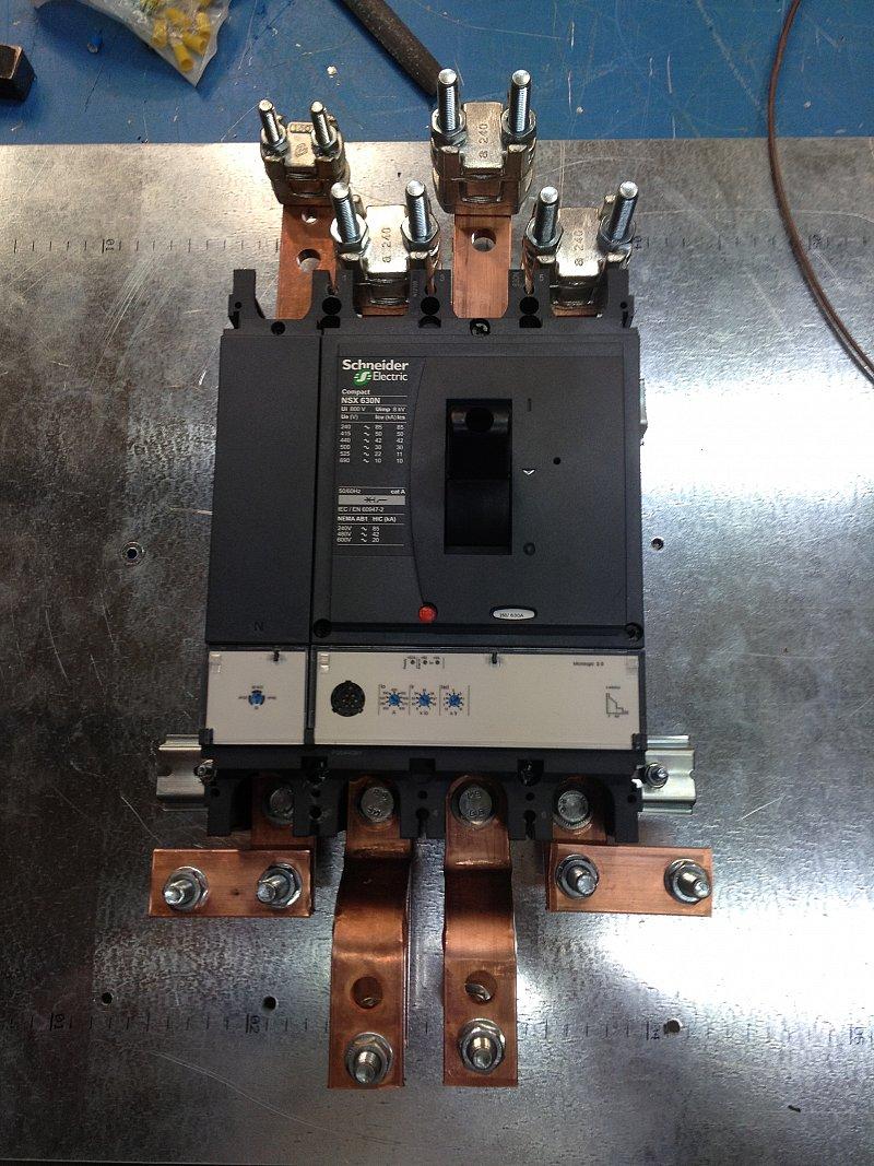 Cuadros eléctricos para obras