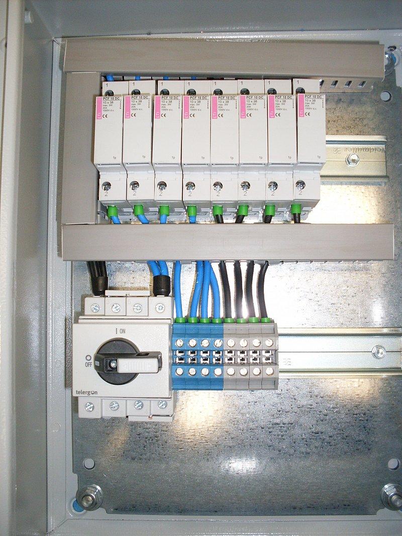 Cuadro eléctrico para fotovoltaica